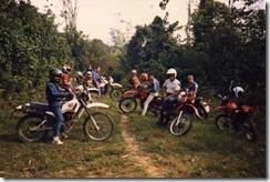 1987 11 Motorradausflug James River